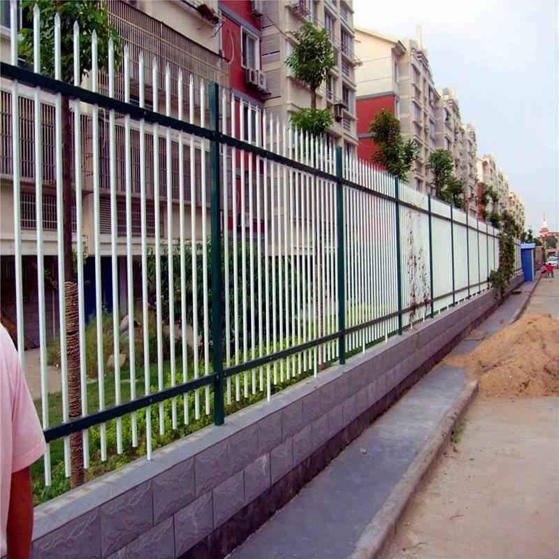 区别墅庭院工厂围墙花园栅栏 江西锌钢 铁艺护栏 优盾隔离栏