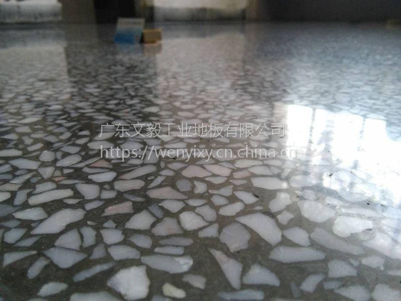 中堂厂房水磨石翻新—石碣水磨石抛光、固化剂地坪