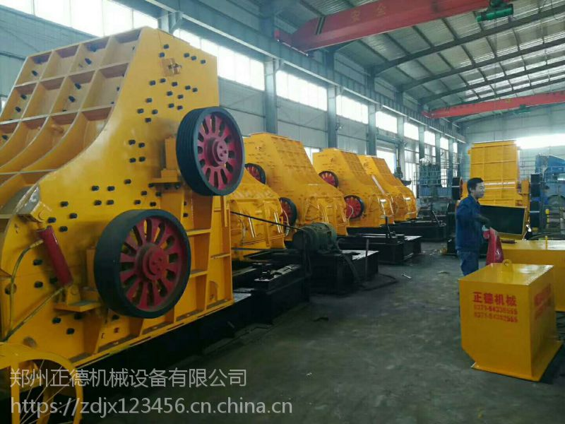 正德机械的煤矸石粉碎机为用户们解决了产量低的问题
