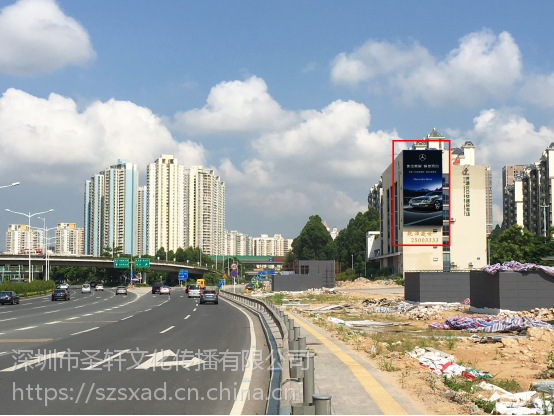 深圳市LED屏广告、渔景大厦LED屏广告、北方大厦LED屏广告、北环场站LED广告