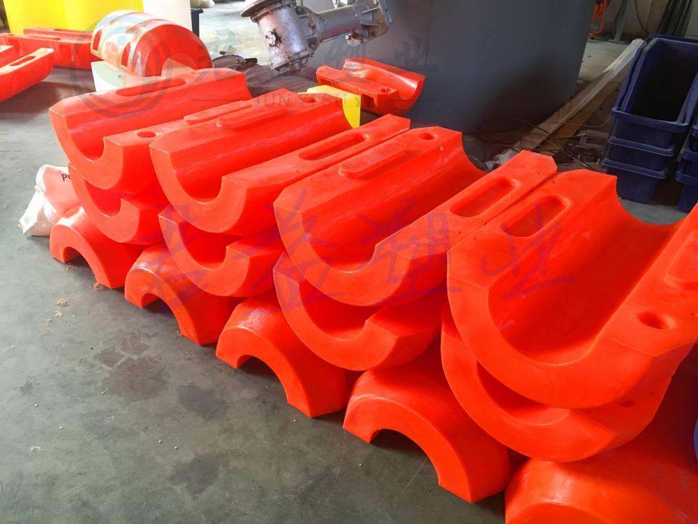 连云港抽沙浮筒 君益新研发直径500*800两半体浮筒