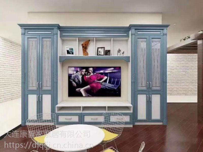 大连铝制家具全屋定制铝制衣柜酒柜橱柜等防火防水