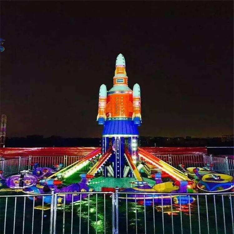 新型游乐场设备自控飞机zkfj18人荥阳三星游乐设备厂家直销