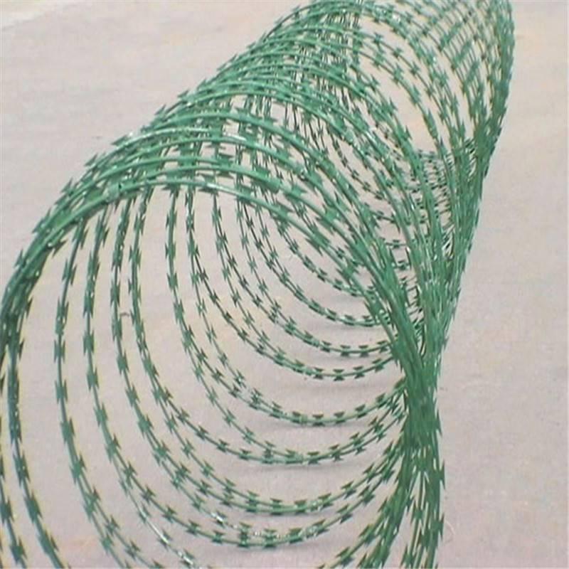 哪里有刀片刺绳 直线刀片刺绳 包塑刺线