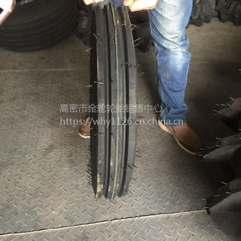 现货销售4.00-14 拖拉机轮胎 农用车导向花纹轮胎耐磨防滑电话15621773182