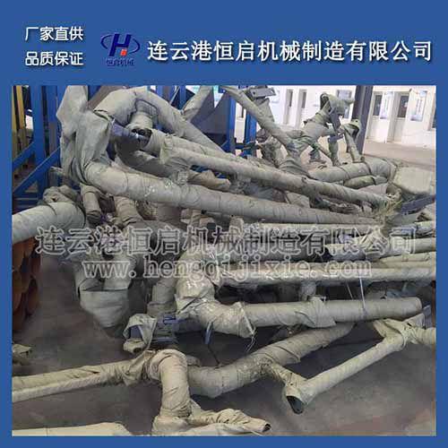 恒启机械 厂家生产 衬四氟鹤管 强酸强碱鹤管 汽车装卸臂