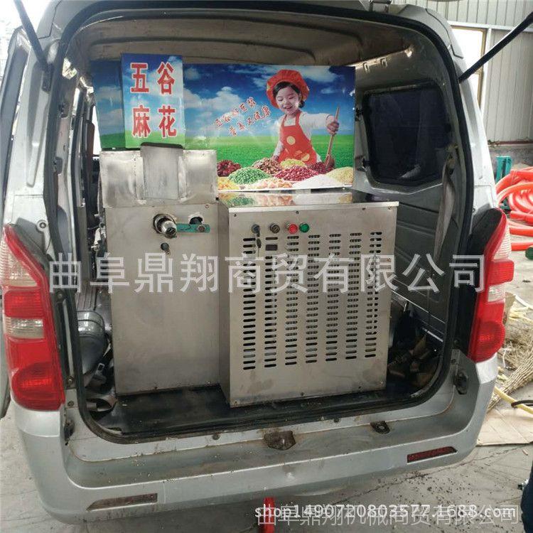 五谷杂粮膨化机 厂家常年供应小米大米高粱膨化机 四缸汽油膨化机