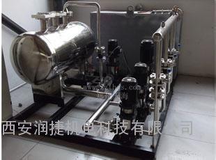 富县全自动变频二次加压供水设备 富县变频恒压消防供水机组 RJ-1139