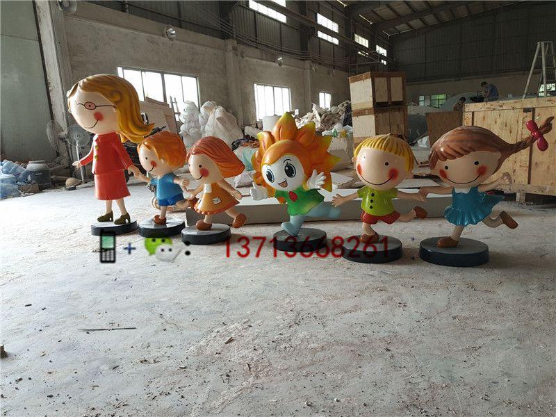 茂名品牌立体公仔雕塑景观卡通雕塑工厂