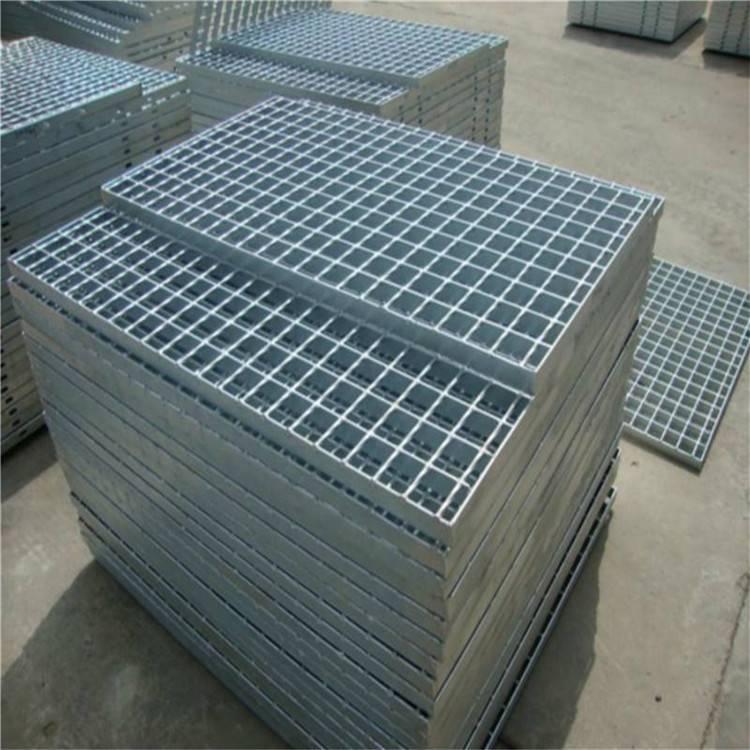 防极物格栅板 万泰平台盖板 热镀锌钢格板