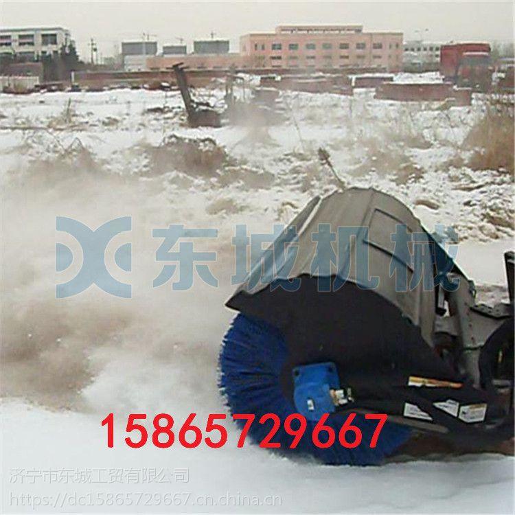 牡丹江市多功能扫雪机 二合一路面清雪机 15马力远程抛雪机