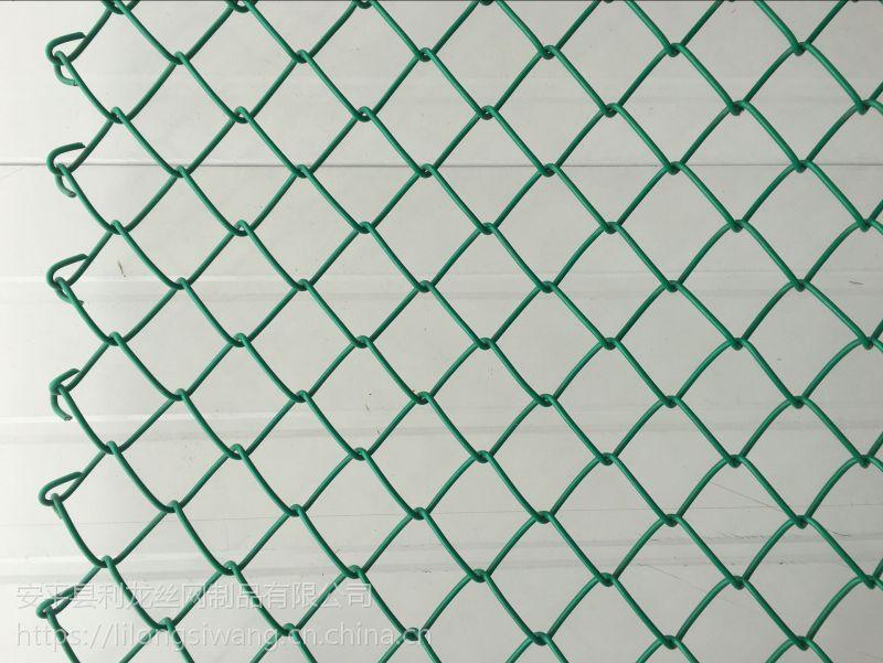 镀锌勾花网客土喷播挂网体育场围栏网篮球场勾花网信誉保证