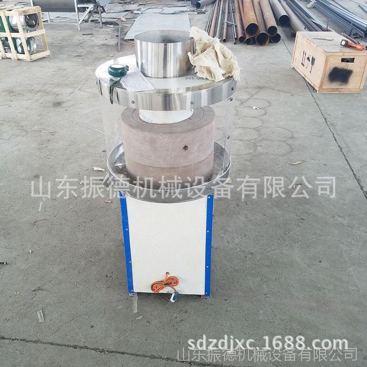 重庆肠粉电动石磨 米浆豆浆石磨机 香油麻汁砂岩石石磨 振德生产