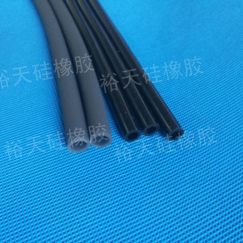 黑色异形硅胶管生产厂家
