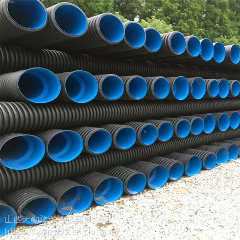山西天勤 聚乙烯波纹管怎样安装 聚乙烯波纹管怎么对接 聚乙烯波纹管规格