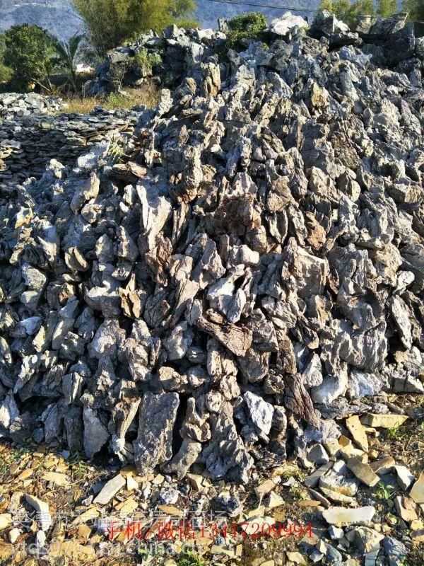 甘肃表面光滑鹅卵石 天然盆景假山石头 酸洗水族 鱼缸青龙石造景石批发
