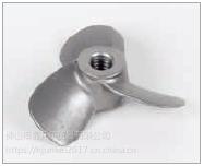 重型不锈钢叶桨,凹型M8螺口