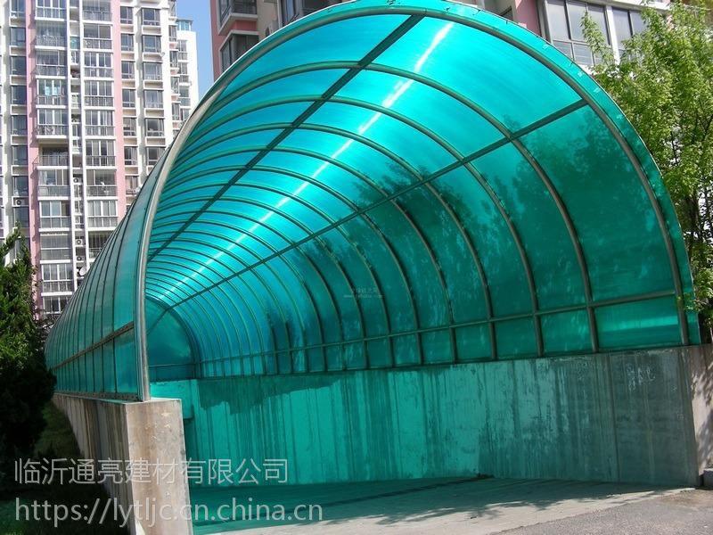 新品上市小坑塑料波浪瓦FRP瓦楞阳光瓦1mm草绿色波浪瓦
