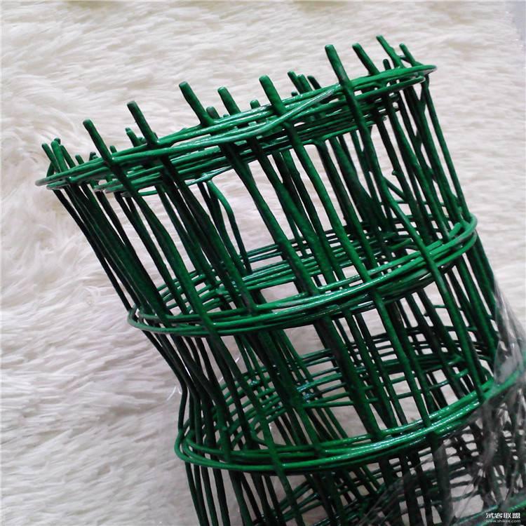 南阳铁丝网护栏 荷兰网立柱燕尾柱 河北包塑荷兰网生产商