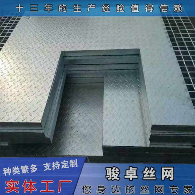 海口钢格板 304不锈钢格栅板 平台钢格网标准现货供应