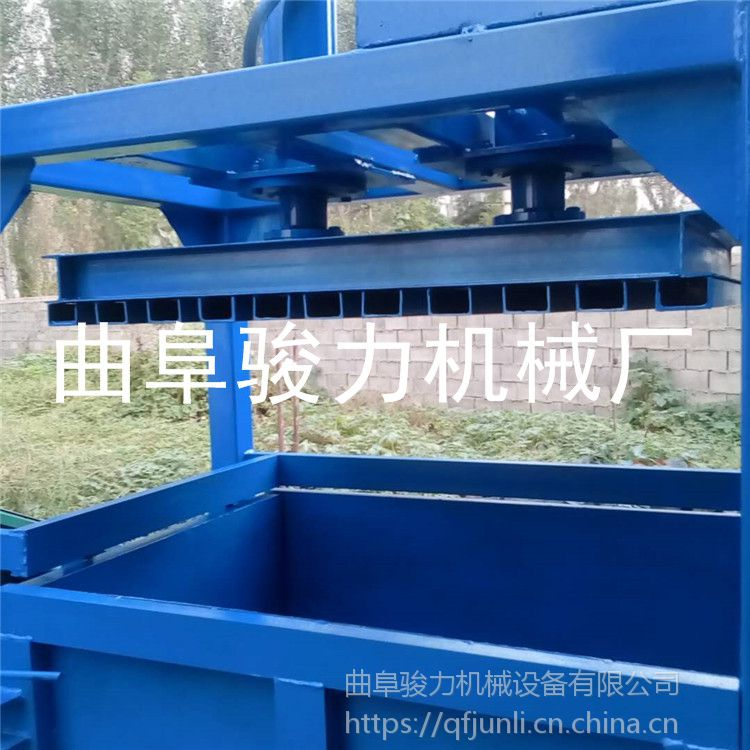 废纸箱液压打包机 半自动编织袋塑压缩机 骏力零售 金属压块机