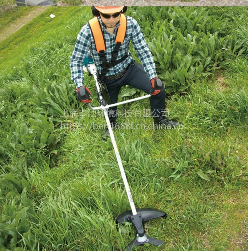 正品牧田(makita)25.7ml大排量汽油引擎草坪修剪灌割草机EM2600U