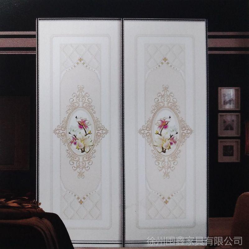衣柜推拉门钛镁合金衣柜推拉门玻璃门衣柜移门实木门推拉门定制