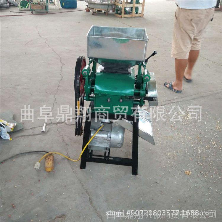 新款促销电动挤扁机  压扁设备 长期供应小型挤扁机