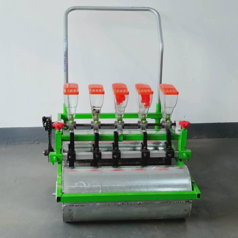 汽油机带动10行白菜精播机价格 润众 免间苗定种种菜机
