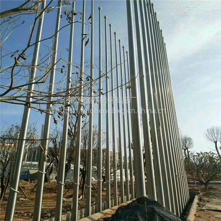 耀恒 电动旗杆加工制造厂 不锈钢国旗杆批发生产