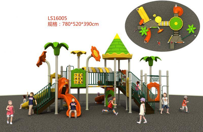 室外组合滑梯,儿童乐园设备批发,户外场地游艺设备厂家