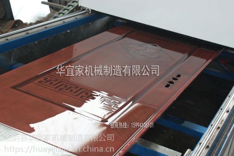 钢木门转印机 钢板门转印机防盗门防火门转印机 热真空木纹转印机 厂家直销