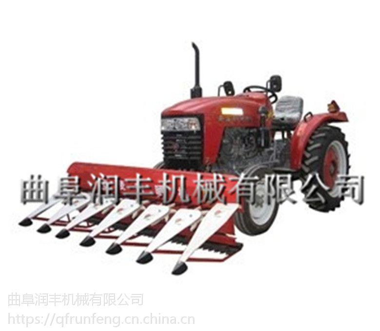 配在拖拉机头割台 润丰 三麦水稻割晒机价格