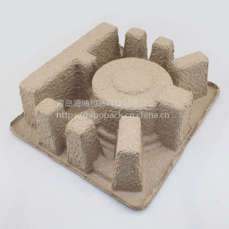 纸浆模塑电子配件纸托青岛纸托 青岛纸塑