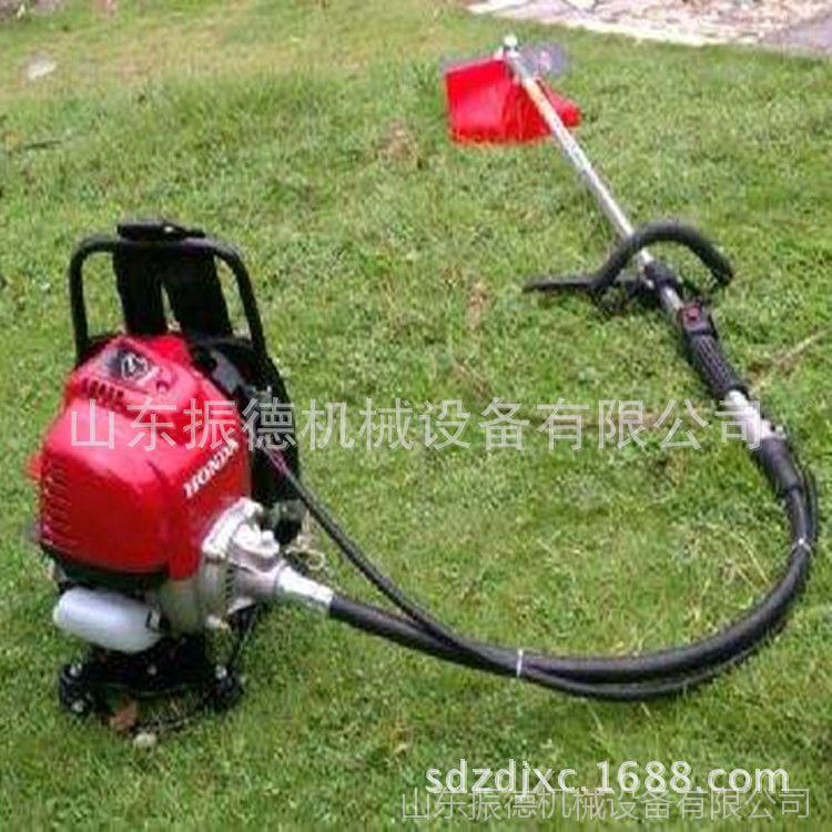 果园二冲程背负式割草机 除草机 汽油割草机 振德牌