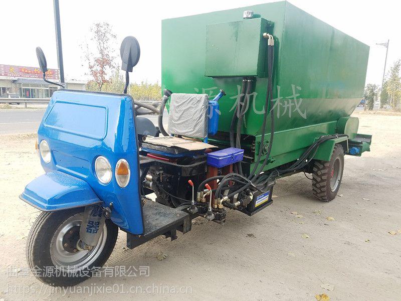草原养殖电动撒料车 独立设计出口撒料车