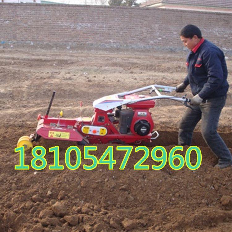 多功能田园管理机 双速开沟培土机 汽油果园管理机