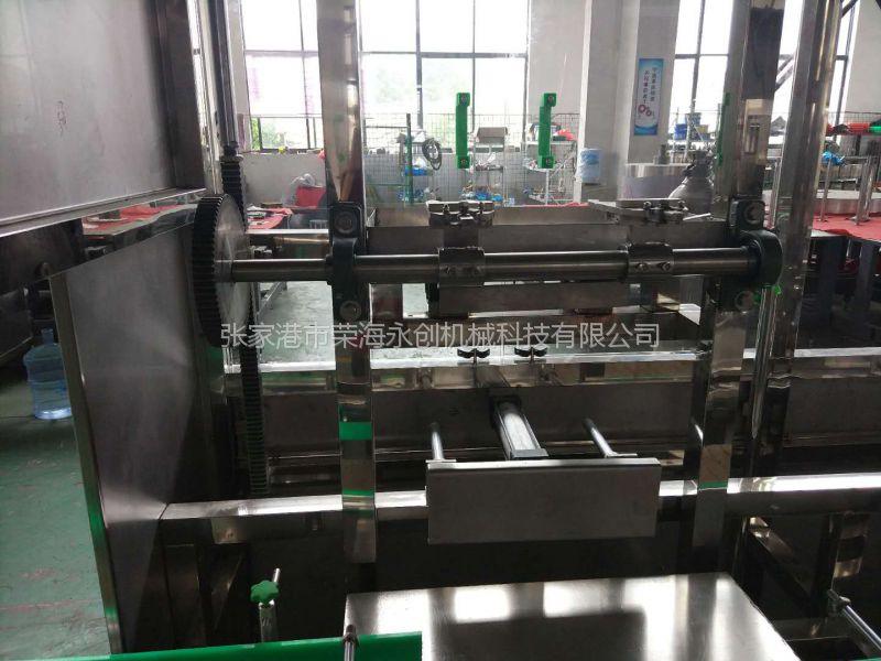 荣海永创XGF4-4-1 4.5-10升500瓶/小时大瓶水一次性桶装水灌装机灌装线