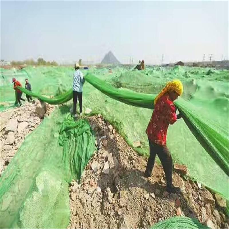 建筑工地防尘网 盖土塑料网 2针盖土网