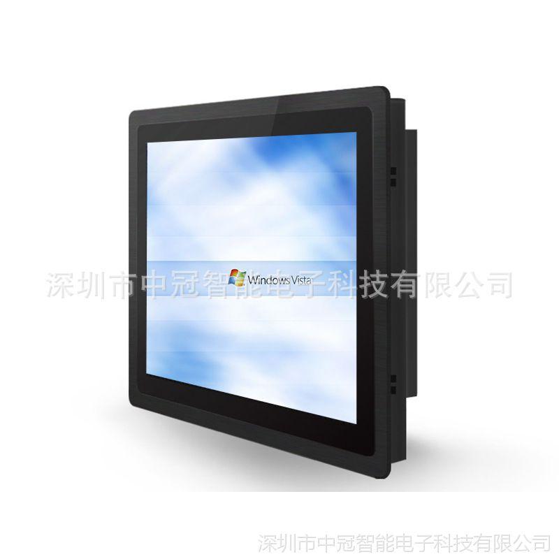 12寸工业平板电脑 电力开关控制设备嵌入式工业一体机 铝合金壳