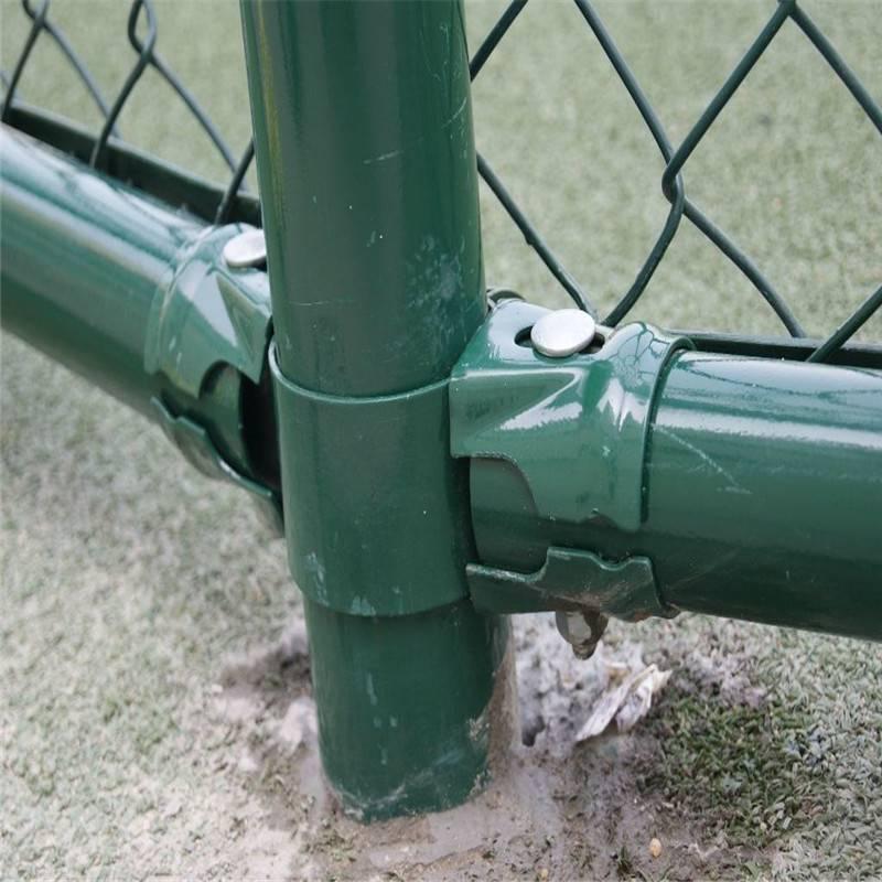 球场围网 篮球场护栏网 勾花网围栏