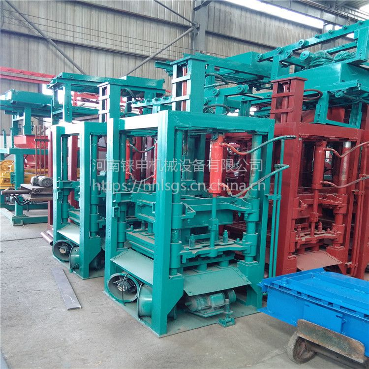 【现货供应】铼申全自动3-15水泥支撑机器 混凝土马镫垫块机 200水泥条设备