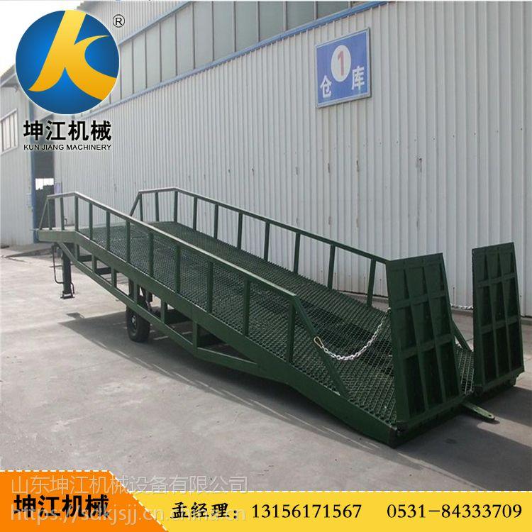 厂家生产移动液压登车桥集装箱装卸货平台过桥车大吨位专用港口物流台