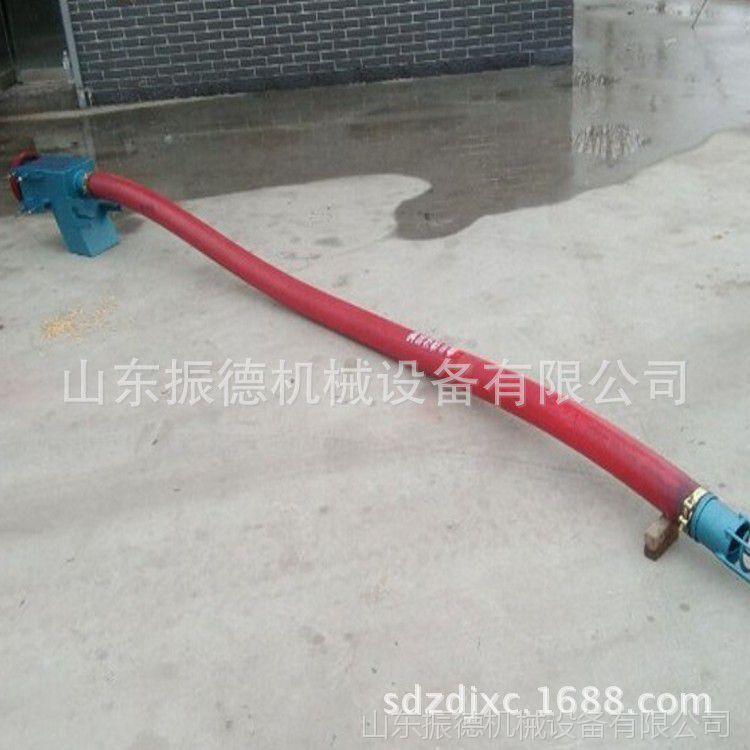 不锈钢螺旋吸粮机  供应家用吸粮机 移动式车载吸粮机 振德