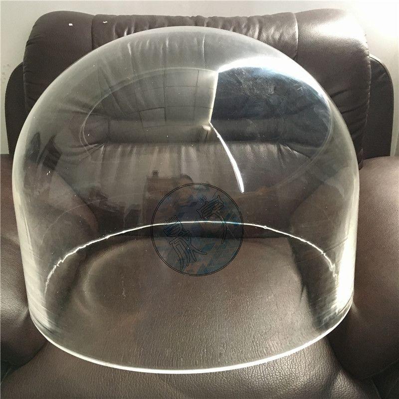 供应亚克力有机玻璃透明真空罩,圆形防尘防护罩,吹塑球形展示罩
