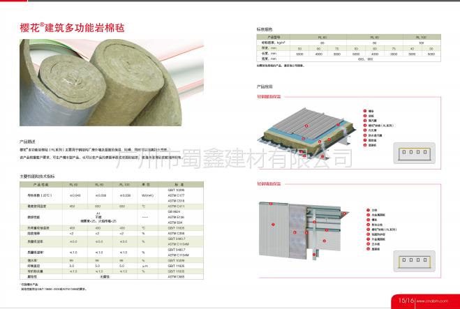 国际品牌ABM 樱花岩棉板 防火板 憎水板 建筑板项目直供原厂出货-广州市蜀鑫建材有限公司