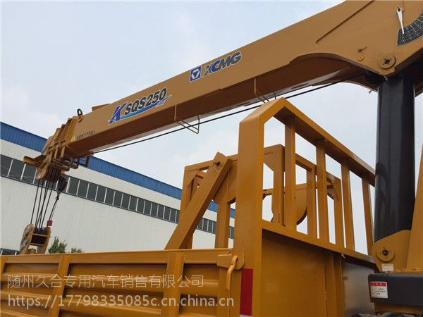 东风御虎单桥8吨随车吊 吊装运输 绿化 工程建筑的不二之选