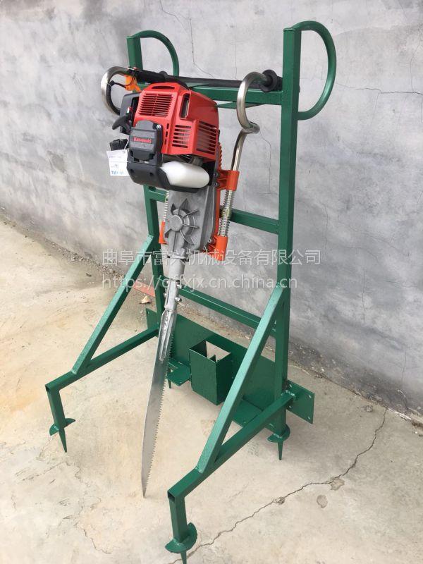 富兴大马力铲头式挖树机 起树机厂家 小型挖树机