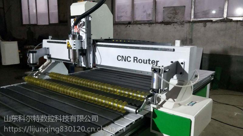 广告雕刻机科尔特 气动压轮雕刻机根据客户需求加工定做