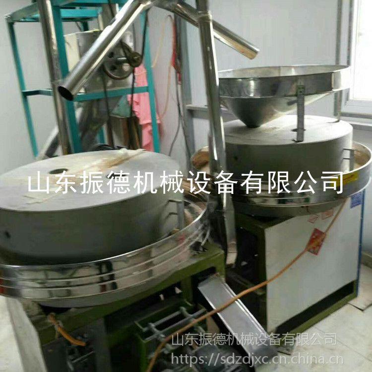 原生态养生石磨面粉机 振德 低价促销 电动玉米面石磨机 谷子碾米磨面机